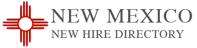 Web Conferencing - New Mexico New Hire Directory